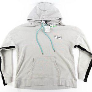 Puma x Rhude Hoodie Sweatshirt Gray Violet 595346